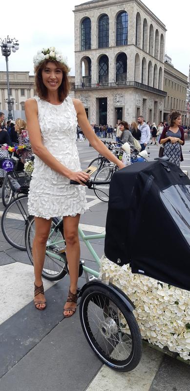 bici cargo fancy women ride milano 2019