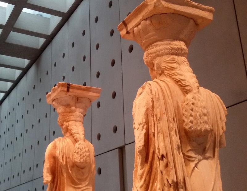 cariatidi museo dell'acropoli atene