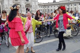 giornata mondiale senz'auto fancy women ride milano