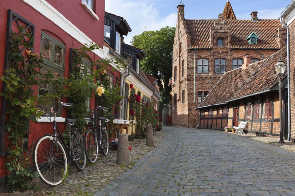 Ribe Jutland Danimarca