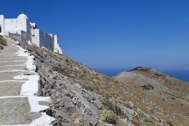 trekking a sifnos grecia monastero profeta elia