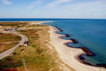 spiaggia nello Jutland Danimarca