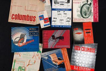 100 anni acciaio Columbus cataloghi d'archivio