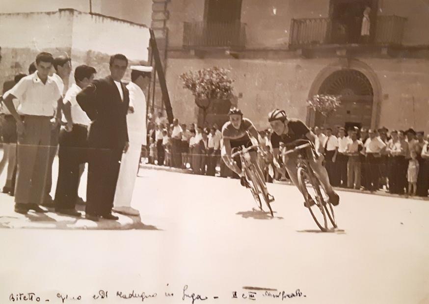 gara di bici d'epoca a Modugno (Ba)