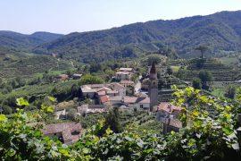 borgo di Rolle, percorso Prosecco Cycling