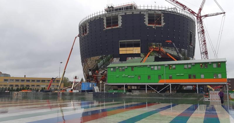 Depot Rotterdam in costruzione
