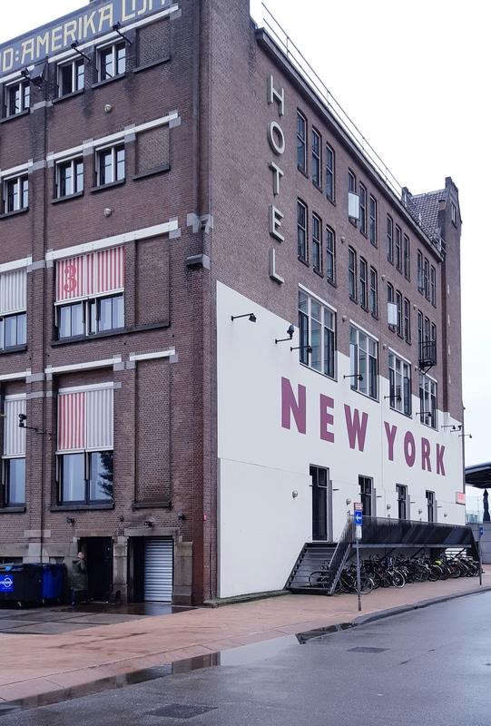 Hotel New York Amsterdam vecchio edificio portuale ph mariateresa montaruli