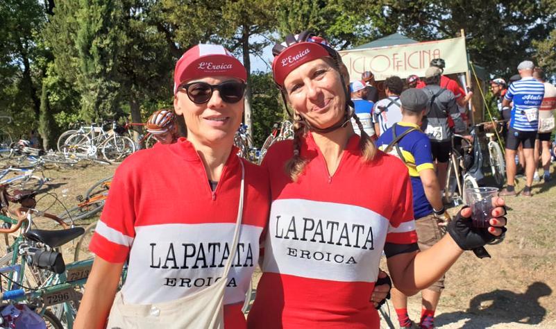 donne cicliste ristoro di Dievole