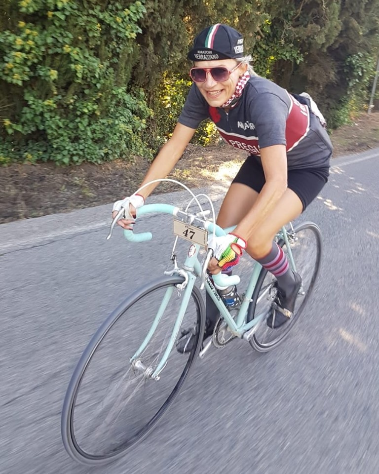 mara mosole all'ìEroica 2019