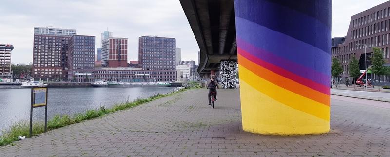 street art porto Rotterdam zona sud