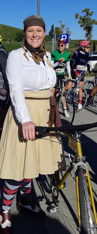 ciclista vintage Eroica 2019