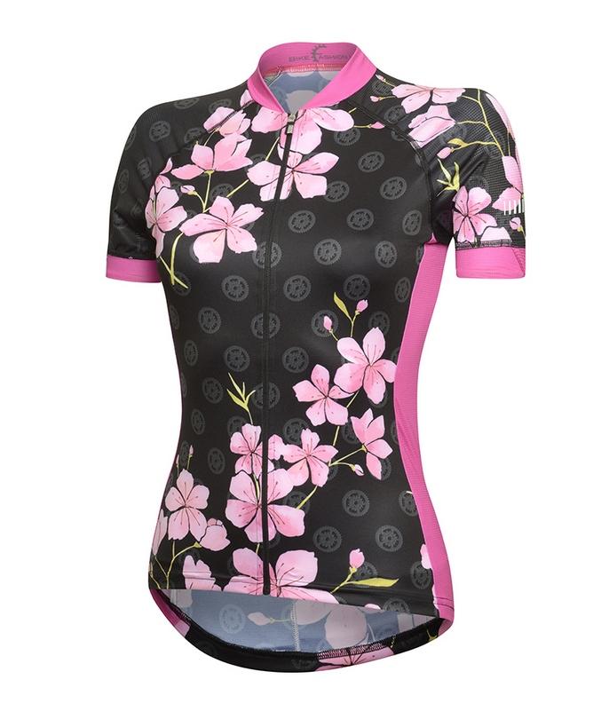 maglia ciclismo rh+ da donna