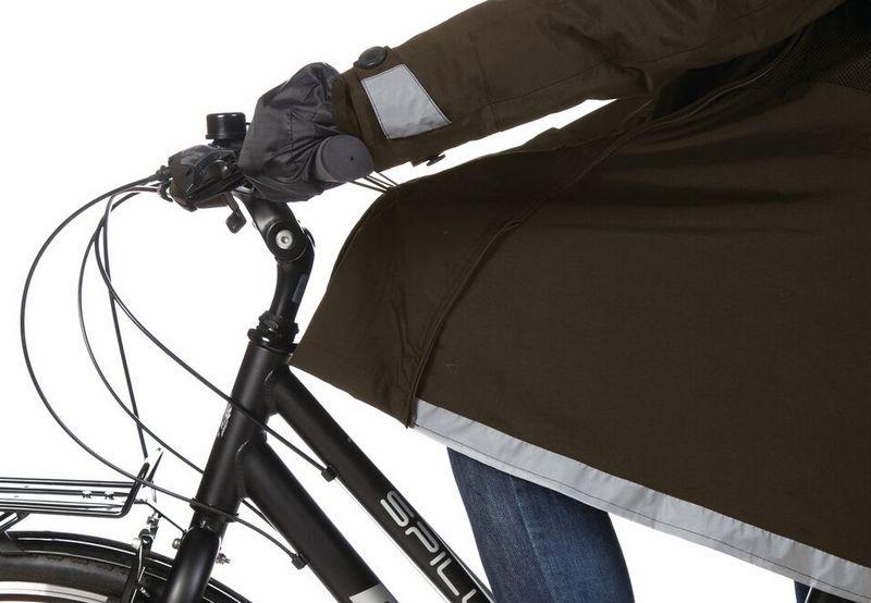 giacca impermeabile da bicicletta