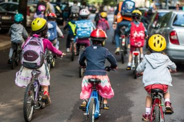 bike to school massa marmocchi bambini in bici a scuola primaria milano