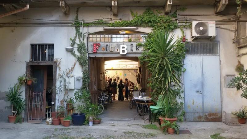 il negozio di cargo bike Fridabike a Milano ph Mariateresa Montaruli