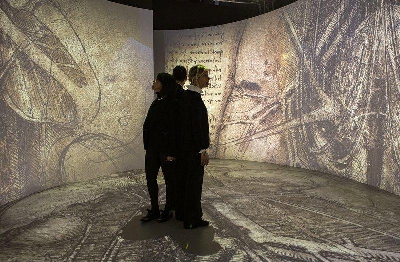 galleria leonardo museo scienza e tecnica itinerario Leonardo milano