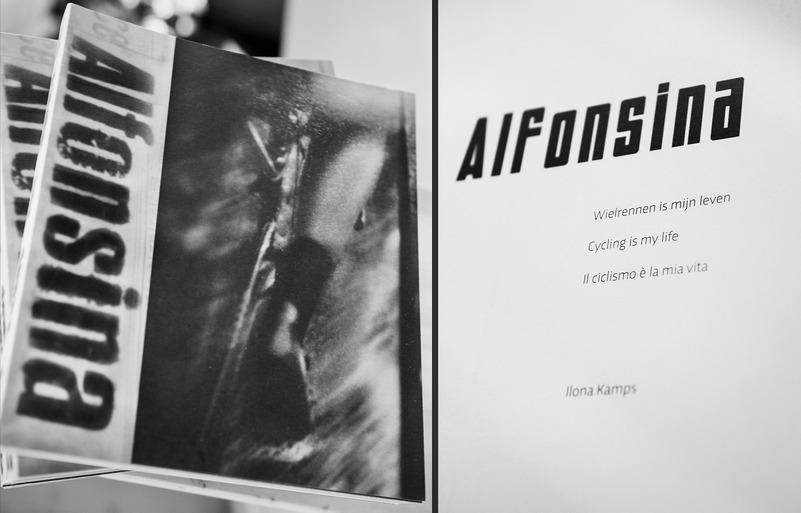 alfonsina strada, libro fotografico di Ilona Kamps, ph I. Kamps