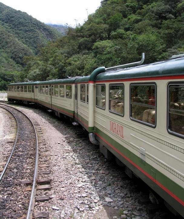 treno per Macchu Picchu, Perù, ph. Mariateresa Montaruli