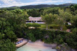 villa di Ian Fleming, autore di 007, a Goldeneye, Giamaica