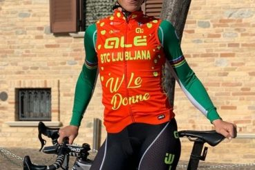 Marta Bastianelli campionessa ciclista italiana team Alé Ljubjana