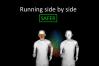 ricerca sulla distanza da tenere tra ciclisti e runner