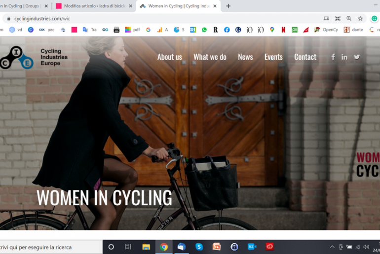 women in cycling