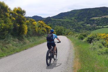 cammino di dante in bicicletta, romagna